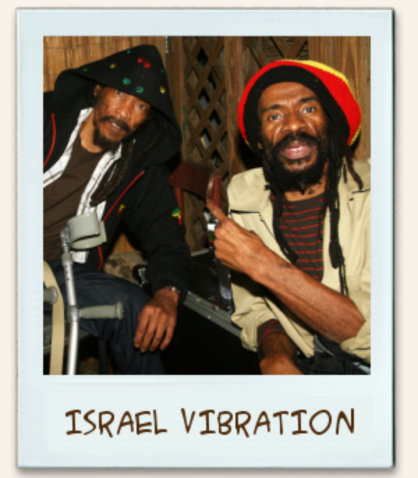 ISRAEL VIBRATION - LIVE & JAMMIN' (2003)
