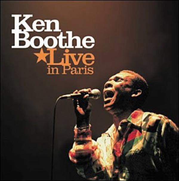 Ken BOOTHE - LIVE IN PARIS (2005)