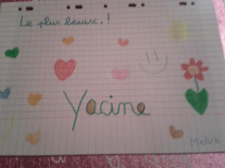Pour Yacine