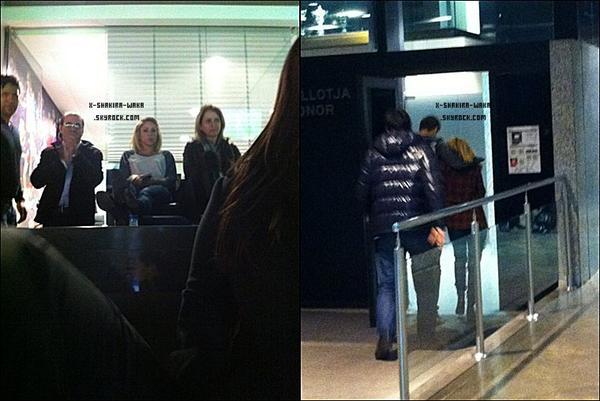 🚶 Shakira & Gérard ont été vus dans les « Rues de Positano ». 12 Mars 2012 - Postiano, Italie.