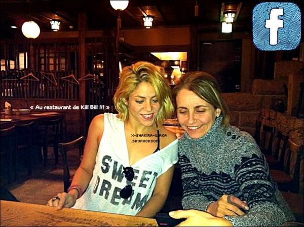 🎄 Shakira a passé Noël avec la « Famille de Gérard ». 25 Décembre 2011 - Barcelone, Espagne.