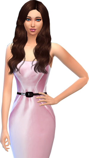 Miss France Sims 2 - Miss Centre