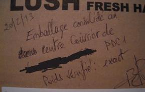 Lush - Commande Lush.UK