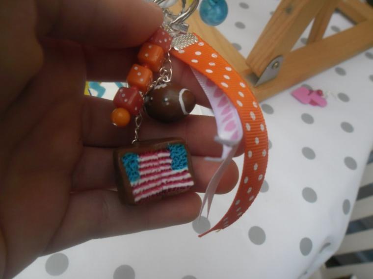 Mon porte-clé Américain