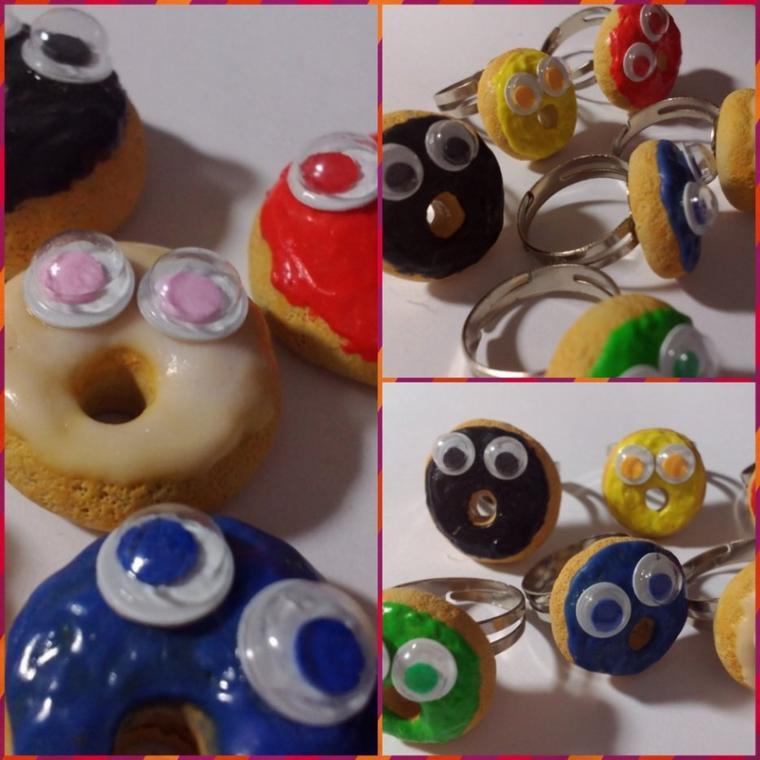 bagues donuts originaux
