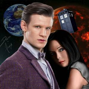 Doctor Who And Amy Baggins