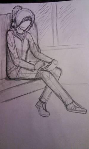 Dessins de la semaine ~ Mon crayon est en deuil, il en devient hyperactif