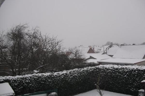 Desolé il neige !!!