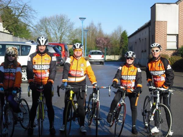 brevet cyclotourisme de Verquin du 23 03 2014