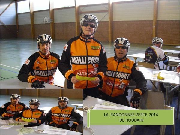 BREVET CYCLO DE '''HOUDAIN du 1er MAI