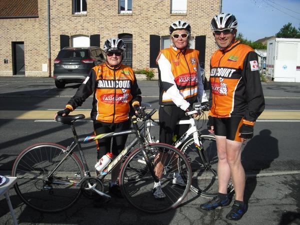 brevet cyclo de Labassée