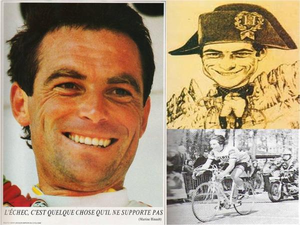 Bernard Hinault .l'échec,c'est une chose qu'il ne supporte pas !! (Martine Hinault )