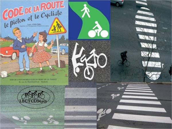 le piéton et le cycliste