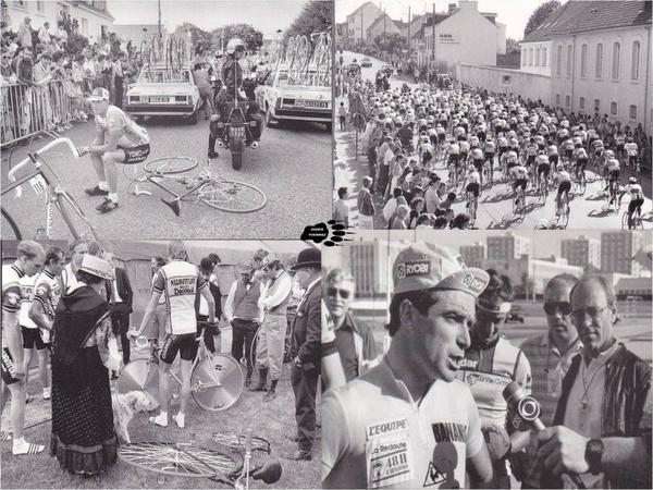 départ du tour de France a Vannes 1985