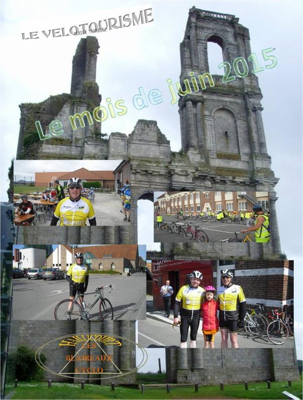 les blaireaux cyclo Haillicourt