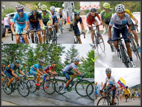 le tour 2015 dommage  pour Quintana