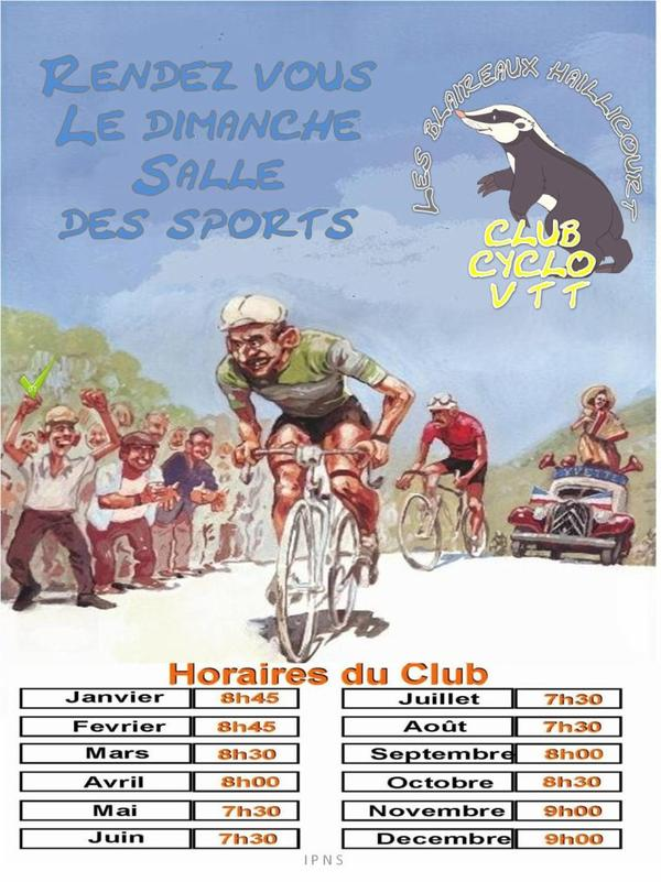 Horaire club