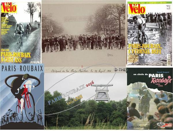 F DE VELO les 120 ans de PARIS ROUBAIX