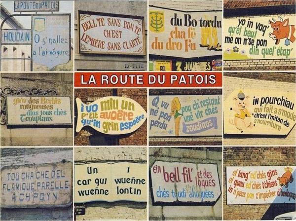 F DE VELO sur nos routes du patois