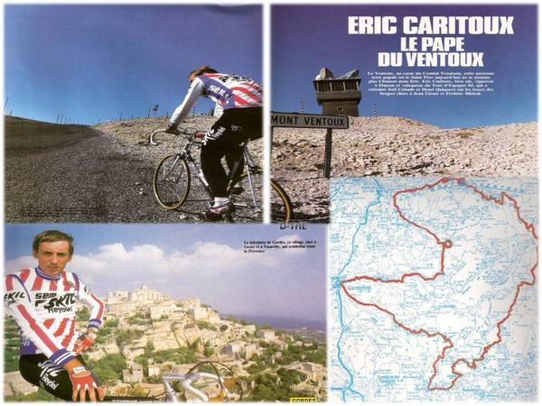 f de velo  le ventoux Eric Caritoux
