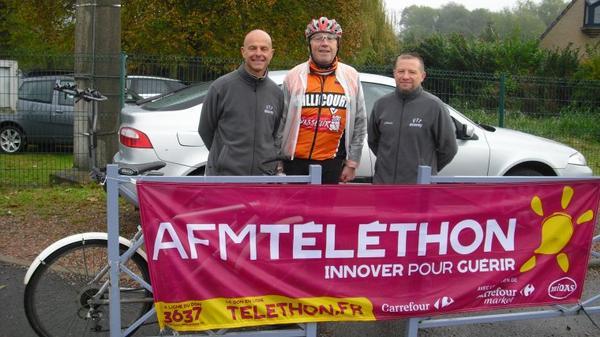 Telethon  de Beuvry cyclo vtt