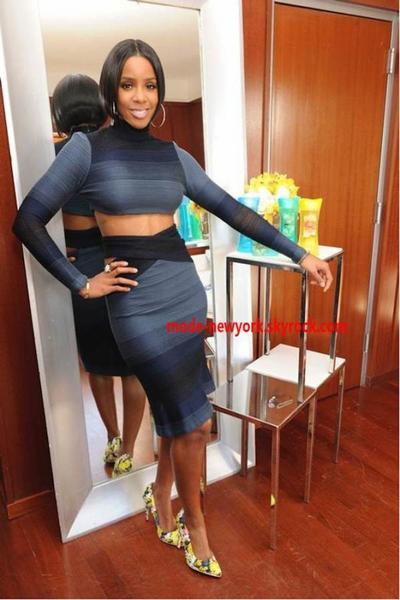 les filles c'est la tendance du moment porter une jupe accompagné d'un mini haut alors vous aimez ?