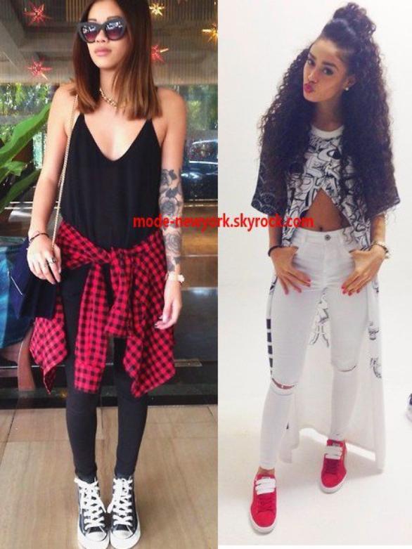 votre style vestimentaire ressemble plutôt à celle de droite ou celle de gauche ?