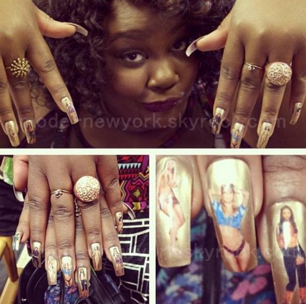 Beyonce Nail Art