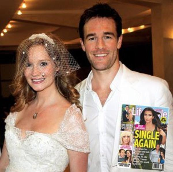 James Van Der Beek & Kimberly Brook