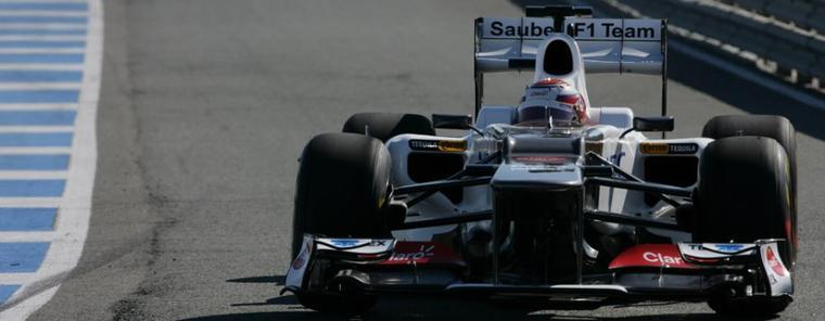 Le lancement de la Sauber C31 à Jerez