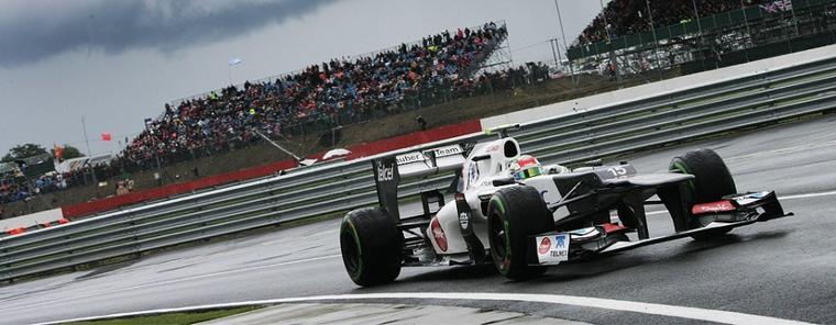 Perez pour le podium à Silverstone