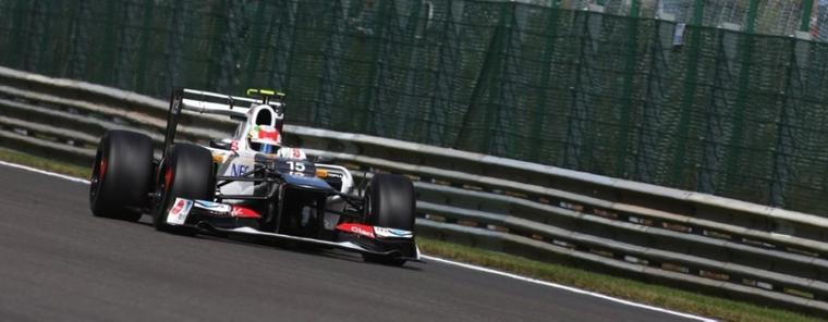 GP de Belgique: Kobayashi ne s'y attendait pas