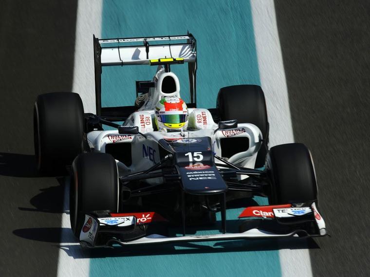 GP d'Abu Dhabi, Sauber visera les points
