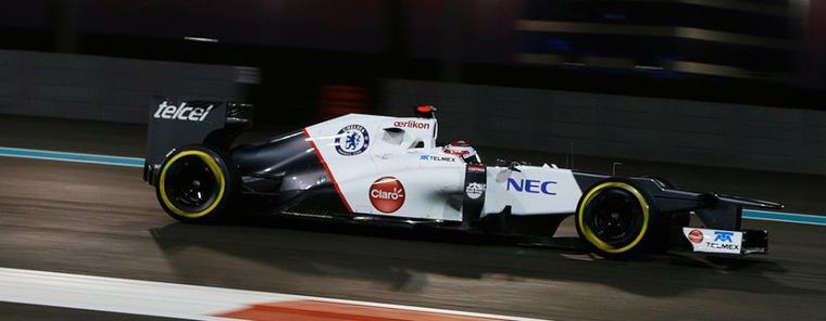 GP d'Abu Dhabi: Sauber se rapproche de son but