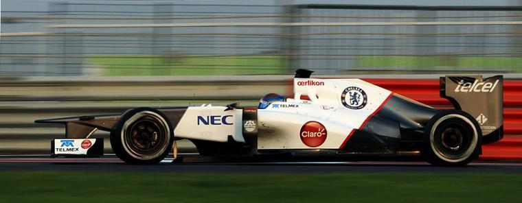 Gutierrez boucle les essais de Sauber à Abu Dhabi