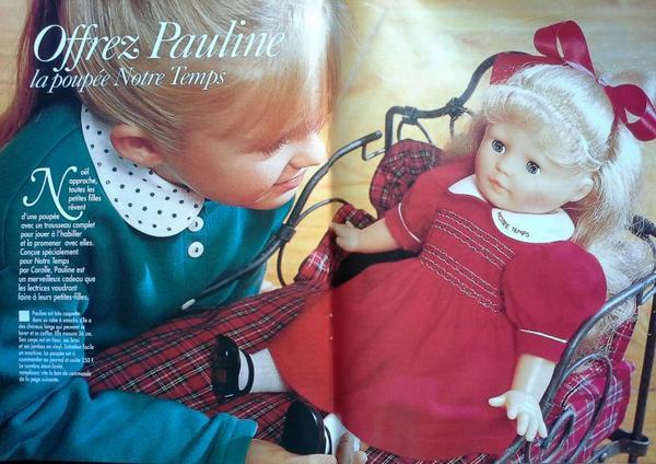 Notre Temps et sa poupée Pauline ..1/2