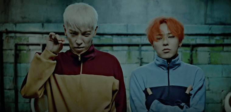 "Paroles :  ""G-Dragon et T.O.P ZUTTer """