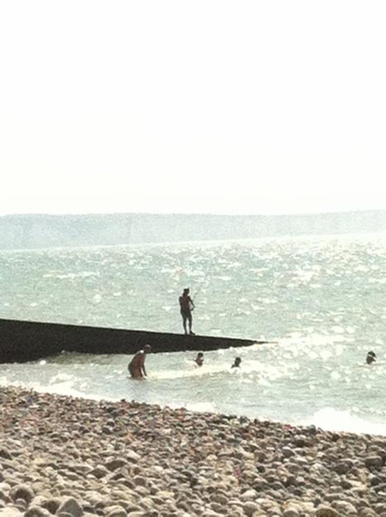 Pêche et soleil Cayeux sur Mer - Août 2012