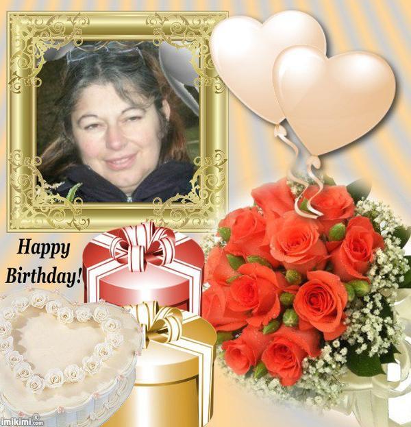 Joyeux Anniversaire à mon amie Florence.. je te souhaite beaucoup de joie et de bonheur et que tous tes voeux se réalisent ... des milliers de bisous du (l) Josie