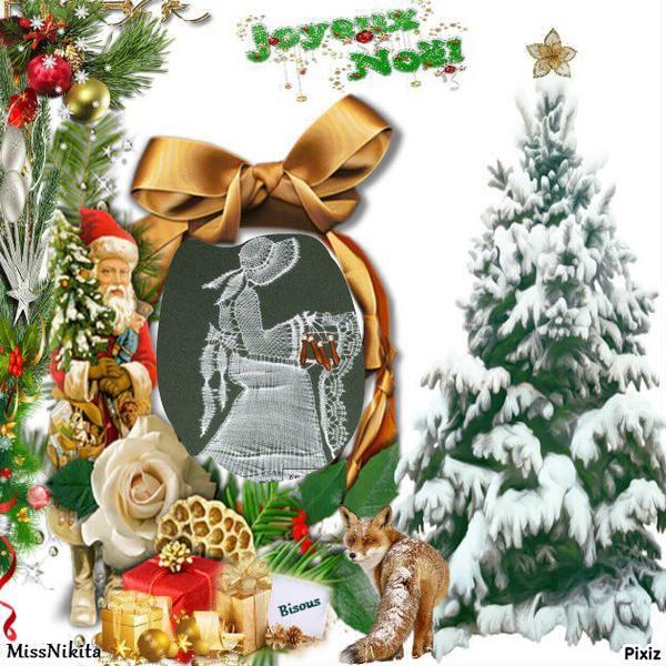 Annie, avec ce petit cadeau, je viens te souhaiter un bon et Joyeux Noel en famille ... mille bisous du (l) Josie