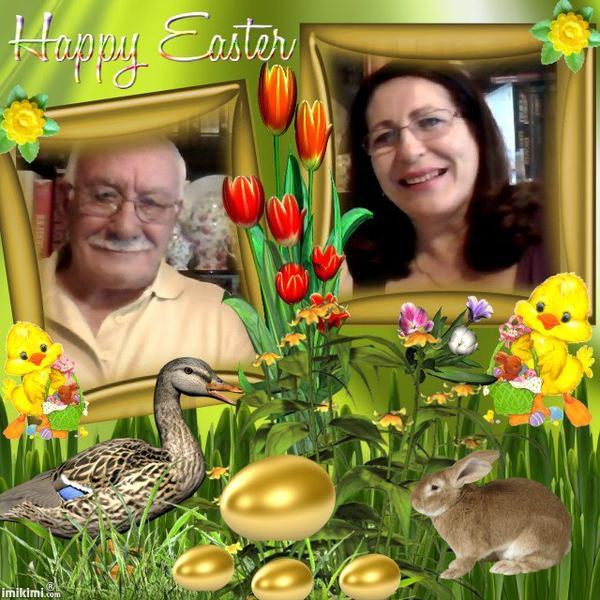 Marion je te souhaite, à toi et à tes proches, de bonnes et joyeuses fêtes de Pâques ... Bisous du (l) ton amie Josie