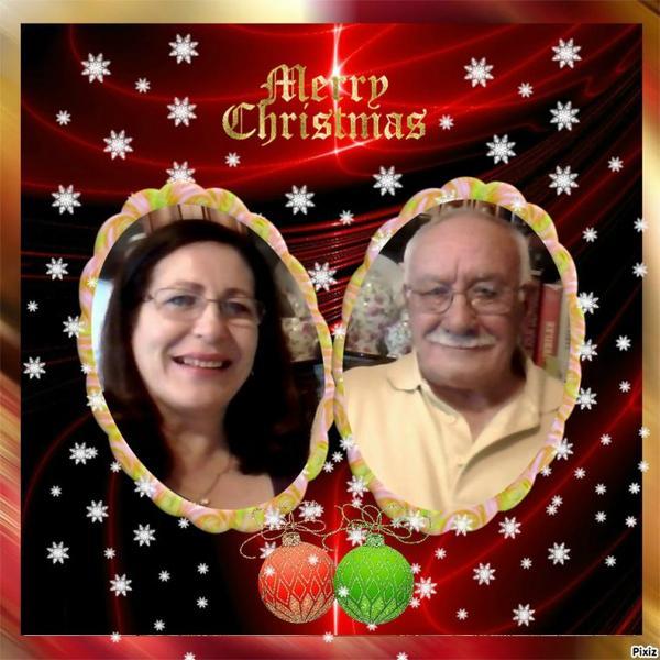 Marion et Paco, avec ce petit cadeau je viens vous souhaiter un bon et Joyeux Noêl en famille .. Mille bisous du (l) Josie