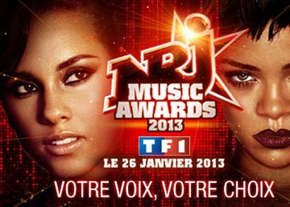 Voter Rihanna au NRJ Music Awards