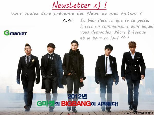 NewsLetter !! - 뉴스 레터 !!  xD'