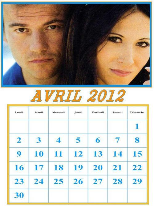 Agenda / Actus Avril 2012
