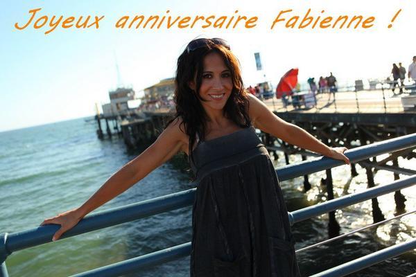 Joyeux anniversaire Fabienne !!!