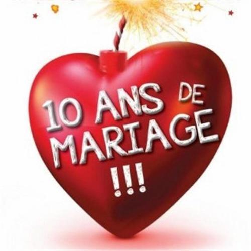 Fabienne au théâtre dans 10 ans de Mariage !(Du 11 décembre au 13 janvier)