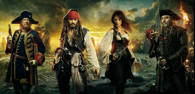 Saga du mois n°3 Pirates des Caraïbes 4