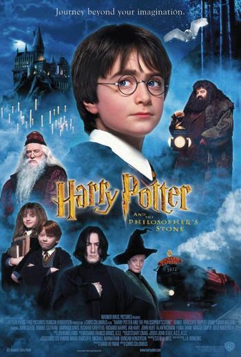 Saga du mois n°5 Harry Potter A L'école Des Sorciers