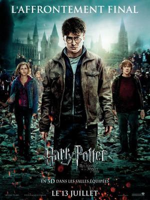 Saga du mois n°5 Harry Potter et les Reliques de la Mort partie 2
